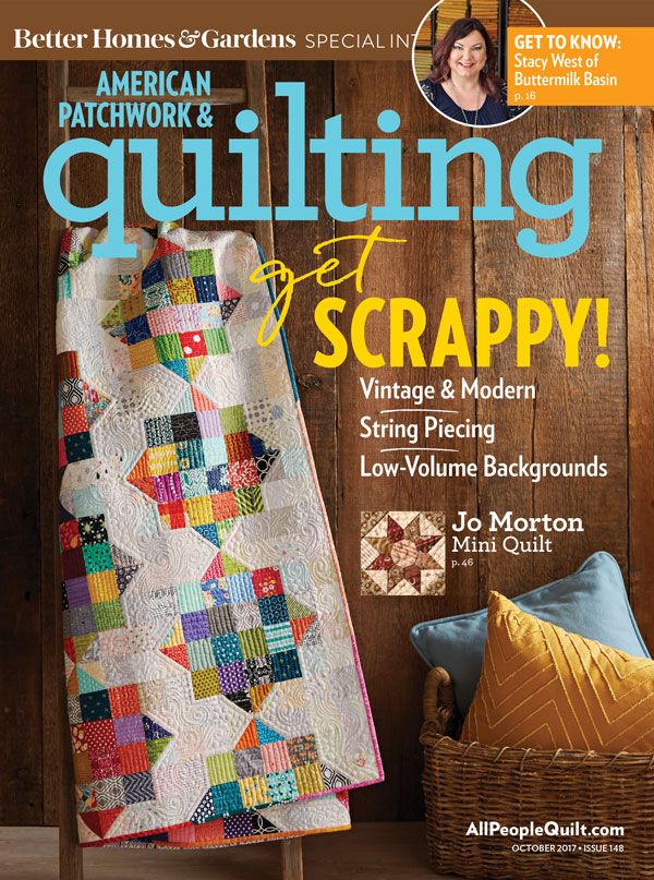 Scrap Happy by Christa Watson in American Patchwork and Quilting