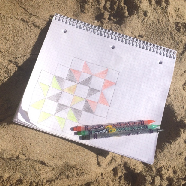 Old School Beach Side Sketching