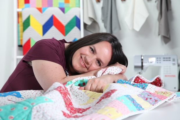 Finsihed Quilt - Startup Library Quilting - Craftsy class by Christa Watson