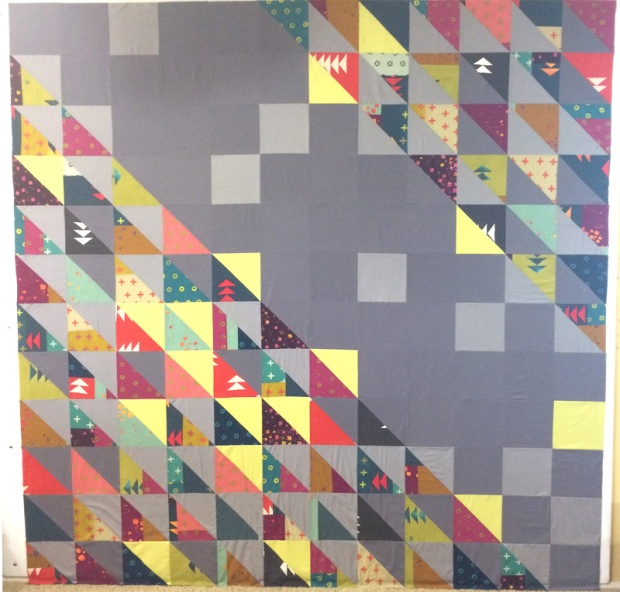 HST Finished Quilt Top