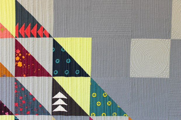 Machine Quilting HST