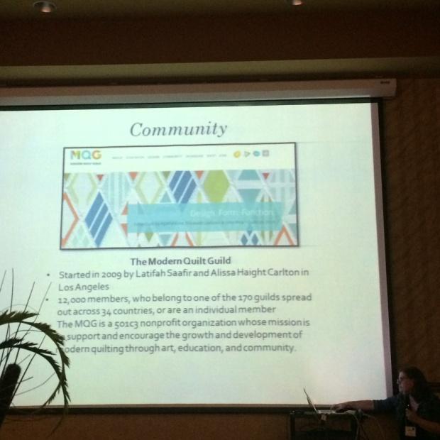 Kristy Daum Modern Quilt Lecture