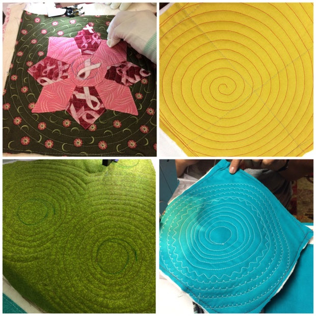 Walking Foot Quilting: Spirals