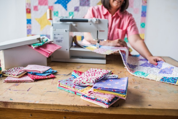 Startup Library Quilting