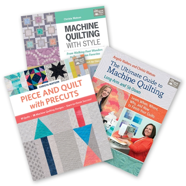 Machine Quilting Books by Christa Watson