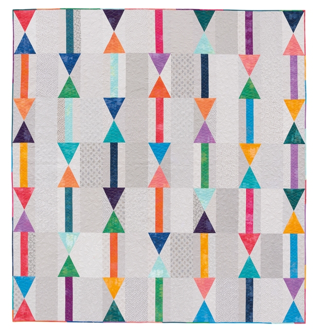 Arrows from Piece and Quilt with Precuts by Christa Watson