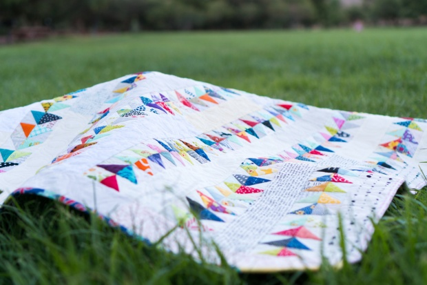 Baby Geese Quilt by Christa Watson