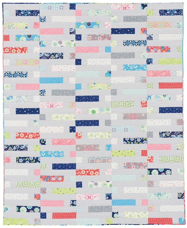 Dot 'n' Dash by Christa Watson from Piece and Quilt with Precuts