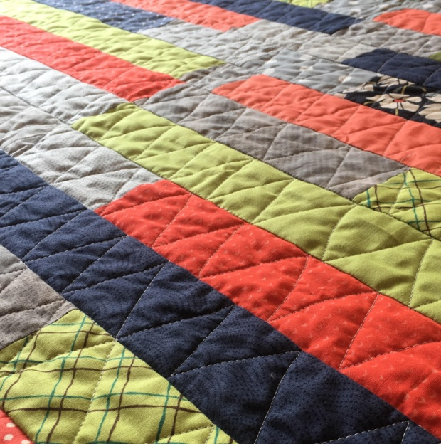 Frequency Quilting by Lorinda