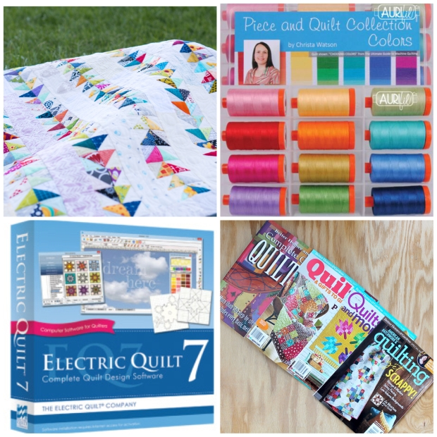 Giveaways for Piece and Quilt with Precuts Blog Hop