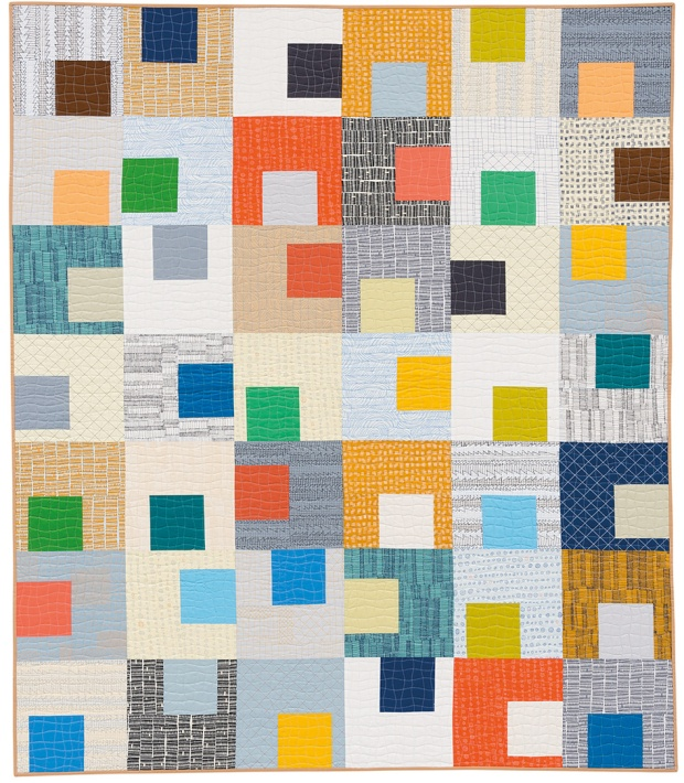 Gridwork by Christa Watson from Piece and Quilt with Precuts