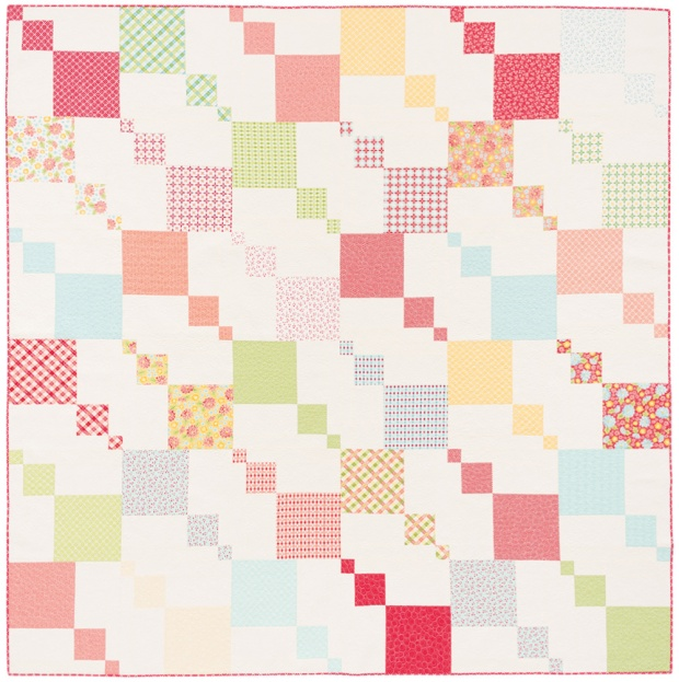 Kites Quilt from Piece and Quilt with Precuts by Christa Watson