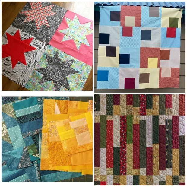 Sneak Peeks of Remakes from Piece and Quilt wtih Precuts