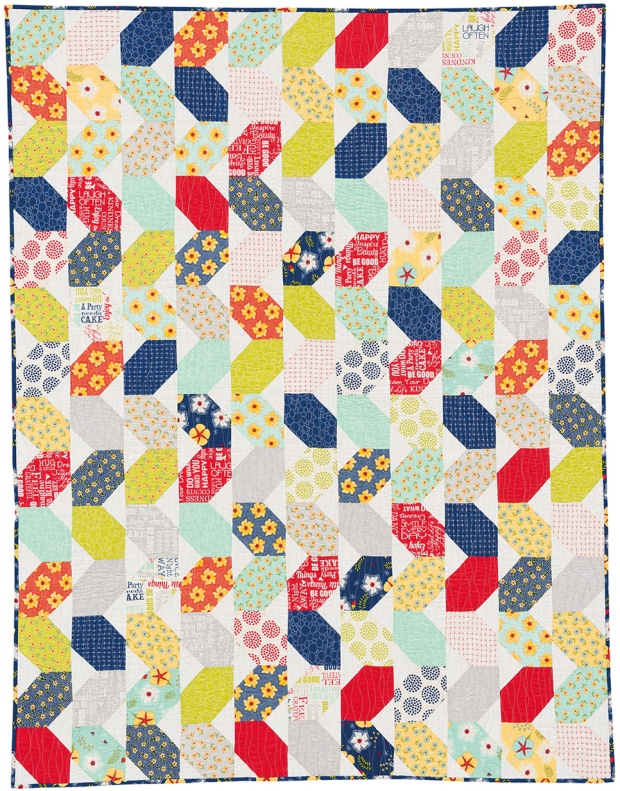 Squiggles by Christa Watson from Piece and Quilt with Precuts