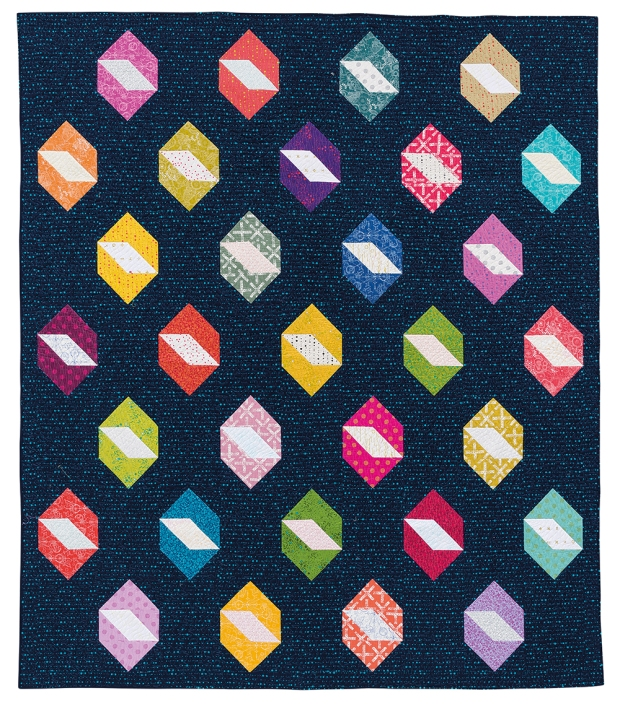 Twinkling Diamonds by Christa Watson from Piece and Quilt with Precuts