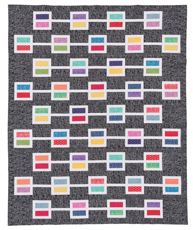 Windows from Piece and Quilt with Precuts by Christa Watson