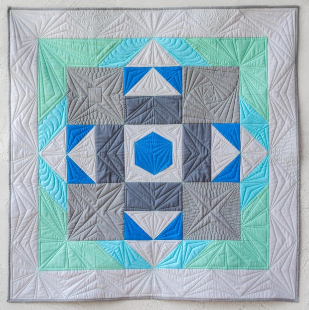 Angela Walters class quilt