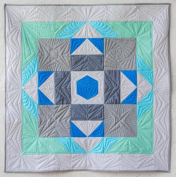 Angela Walters class quilt