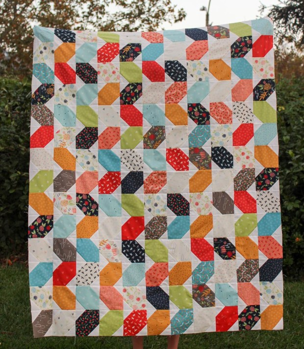 Squiggles from Piece and Quilt with Precuts
