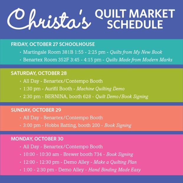 Christa Watson Quilt Market