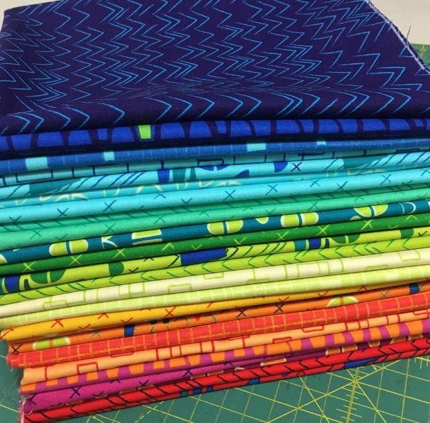 Modern Marks Fabric