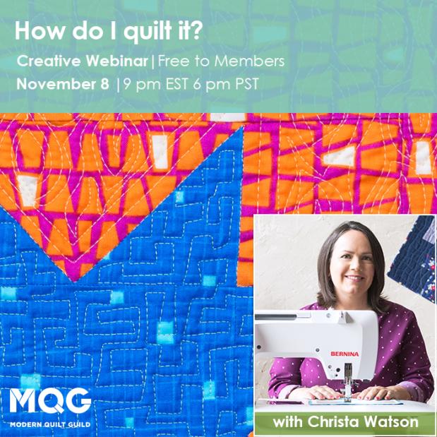 How Do I Quilt it MQG
