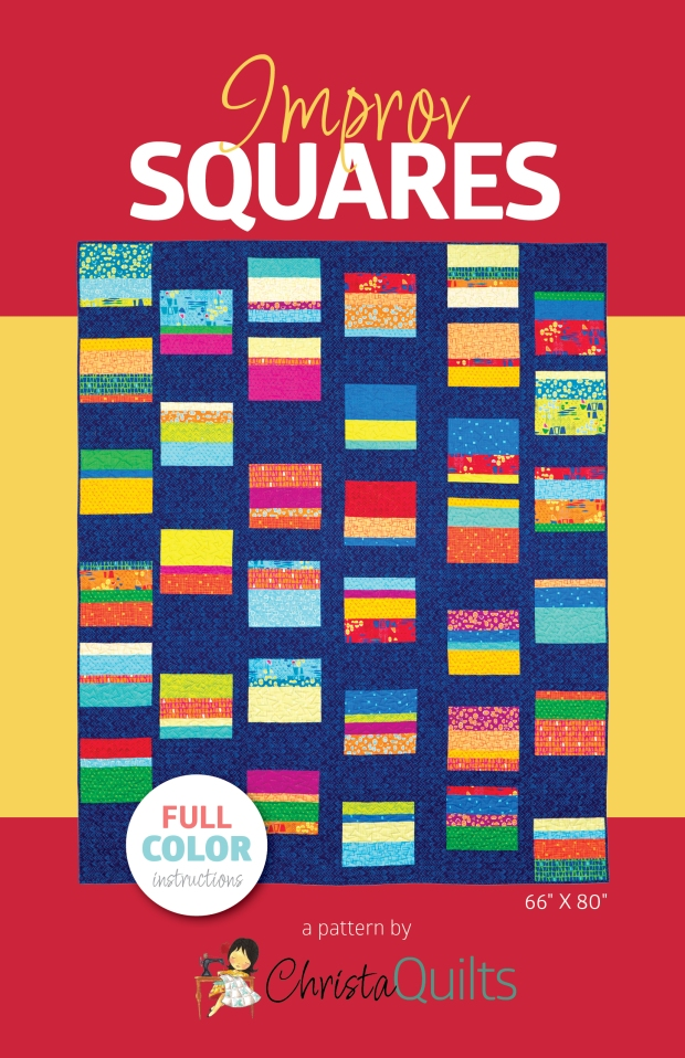 Improv Squares by Christa Watson for Christa Quilts