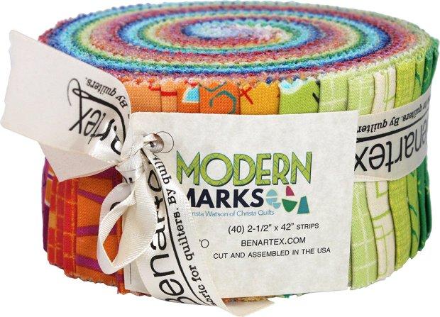 Modern Marks Pinwheel from Benartex