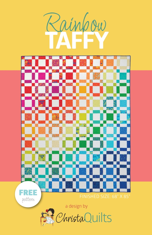 Free Pattern Rainbow Taffy