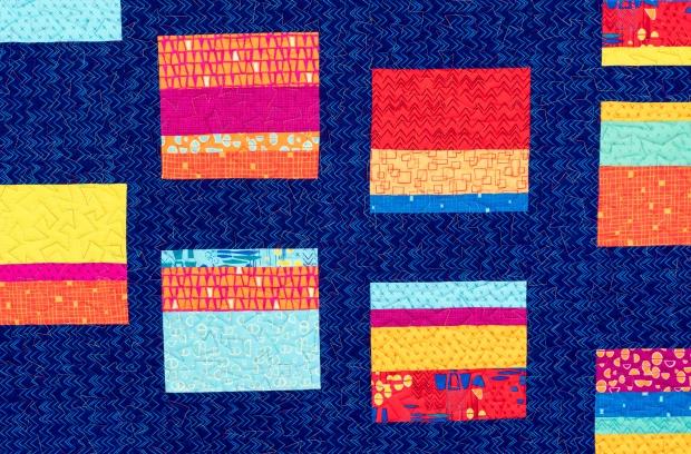 Quilting Improv Squares