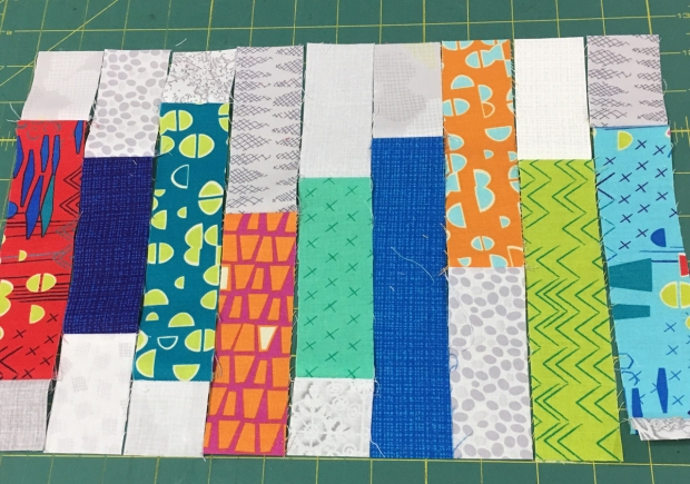 Mini Frequency Block Piecing