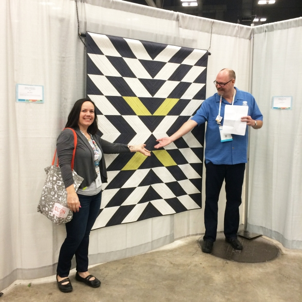 Modern X at QuiltCon with Bill Volckening