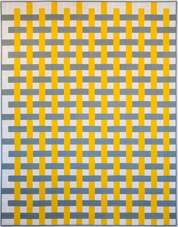 Colorweave quilt
