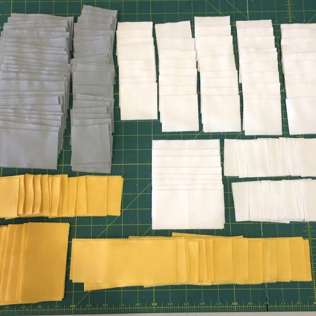 Precut Pieces for Color Weave