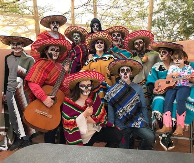 Watson Family Dia De Los Muertos