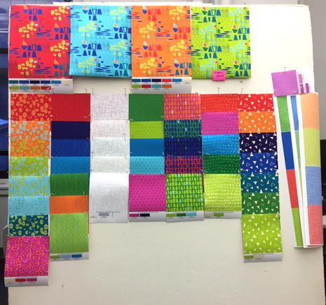 Fabric Design in Progress