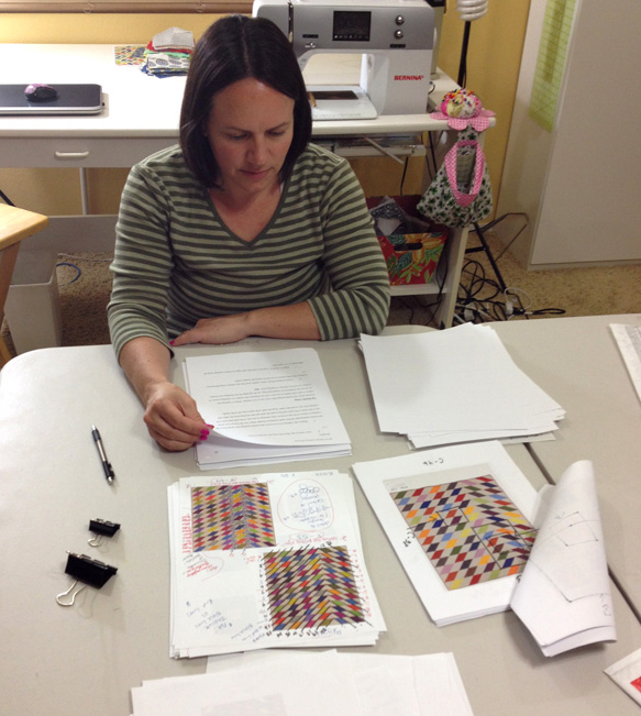 book and pattern editing
