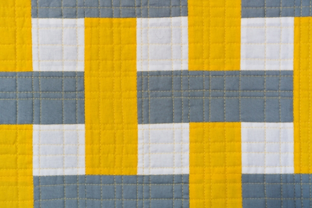 Quilting Detail on Color Weave