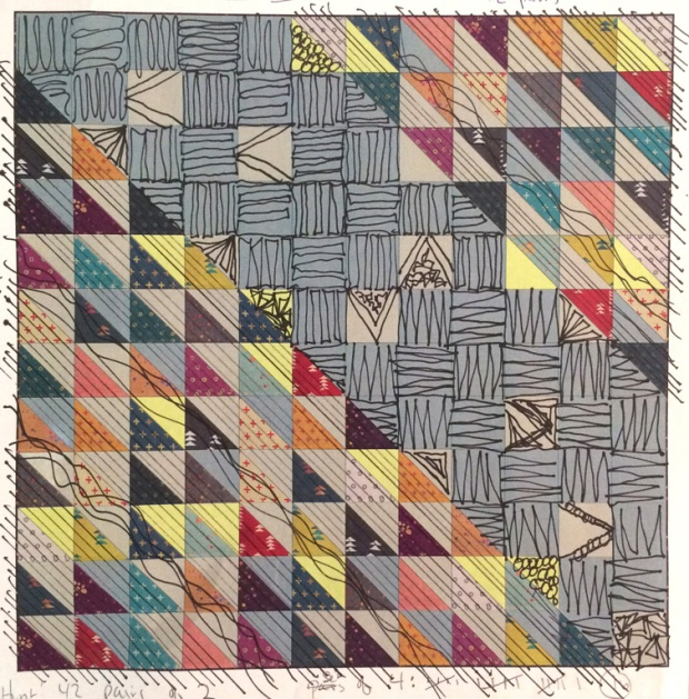 Quilting plan for HST