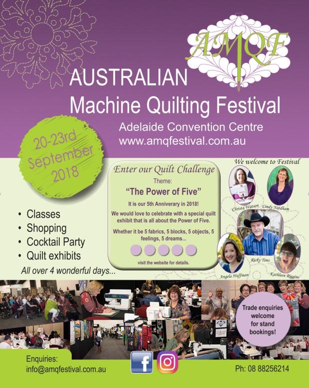 Australian Machine Quilting Festival