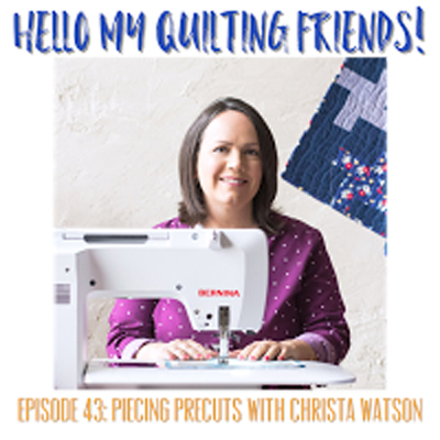 Leah Day Quilting Podcast