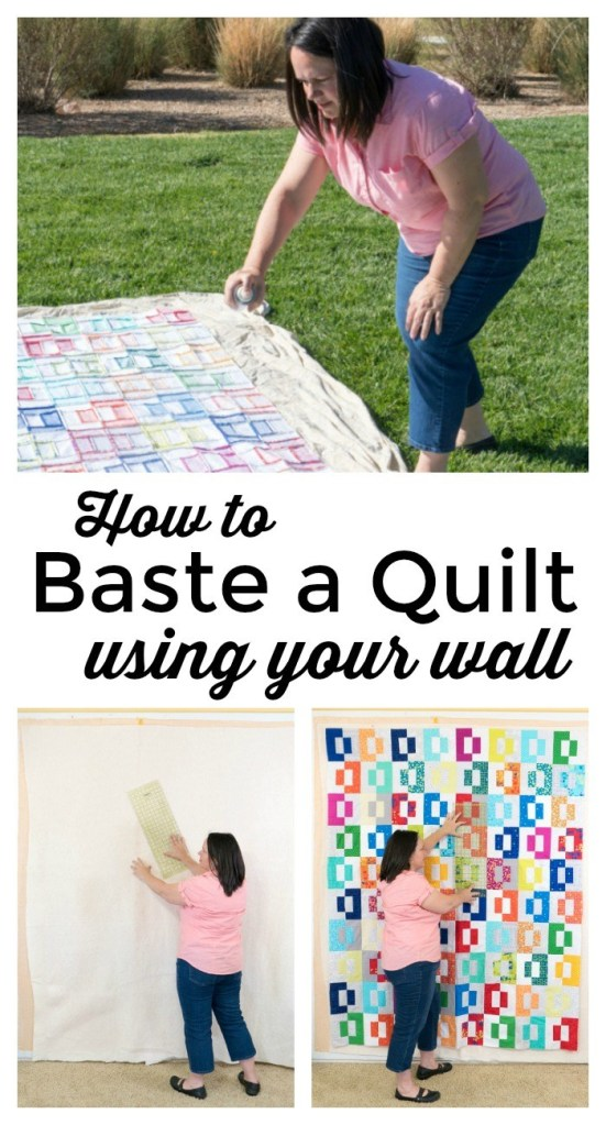 Wall Basting Quil Tutorial