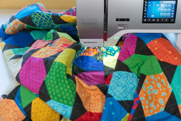 Machine Quilting Squiggles