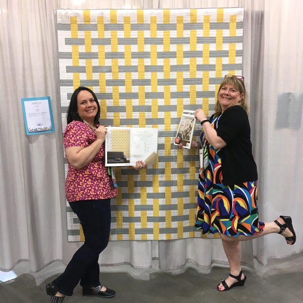 Christa and Laurie from Modern Quilts Unlimited