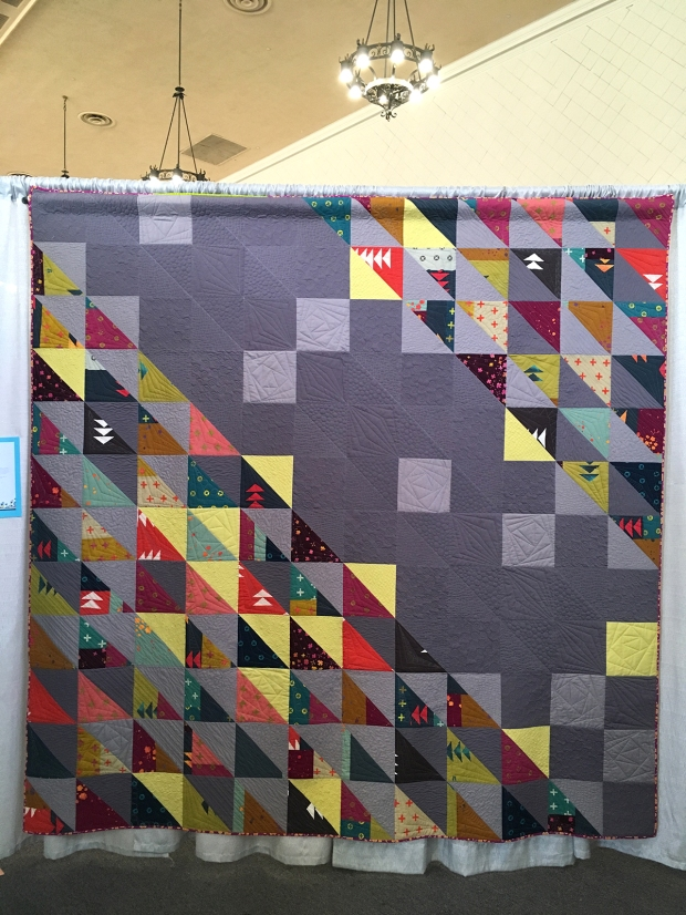 HST Remix quilt at QuiltCon 2018