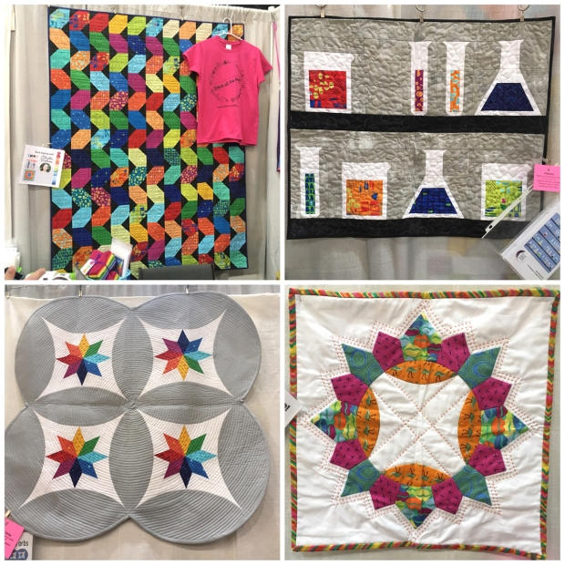In Town Quilter's Booth at QuiltCon 2018