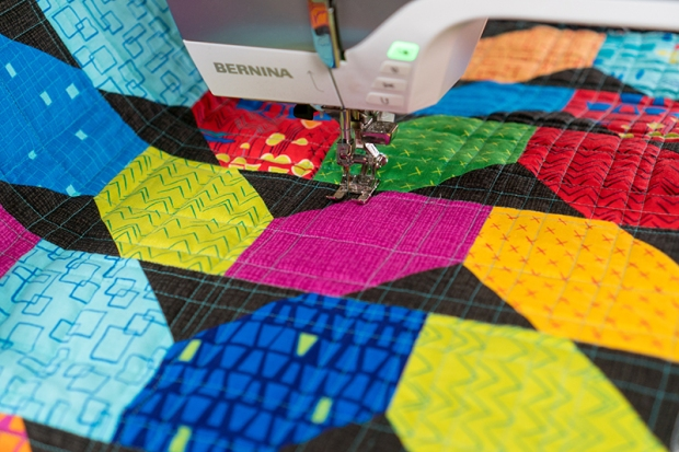 Quilting Random Crosshatch