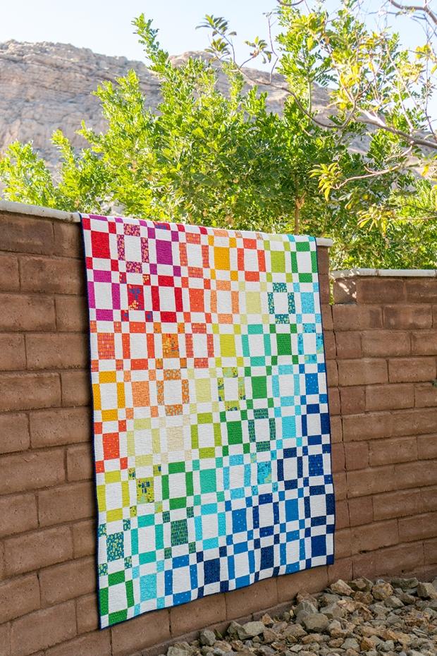Rainbow Taffy by Christa Watson made from Modern Marks