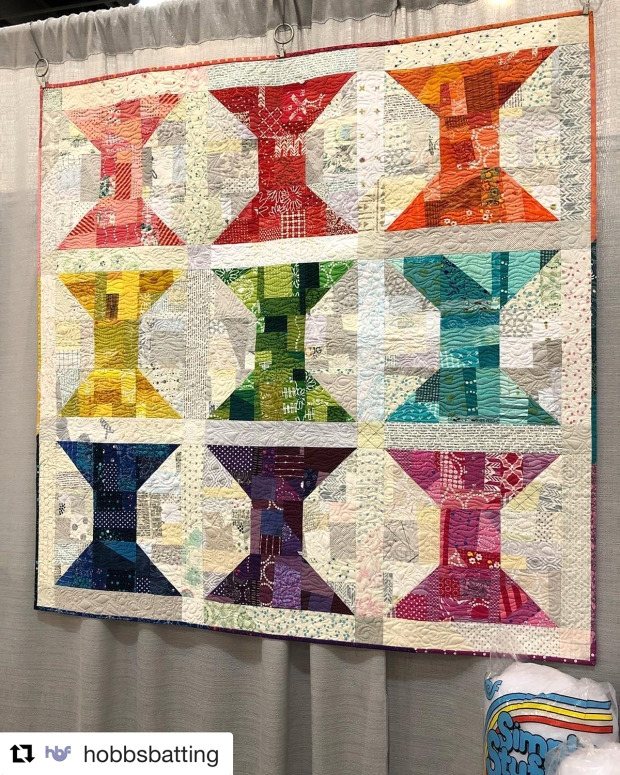 Spools Quilt from Piece and Quilt with Precuts