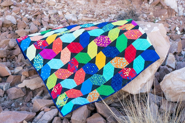 Squiggles Quilt by Christa Watson